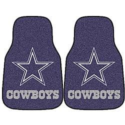Fanmats Dallas Cowboys 2-piece Car Mat Set