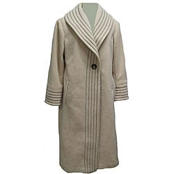 Womens Long Fleece Coat - Coat Nj