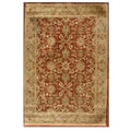 Hand-tufted Narena Rust Wool Rug (8'9 x 13')