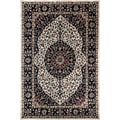 Artist's Loom Hand-tufted Traditional Oriental Wool Rug (7'9x10'6)