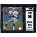 Tony Romo 12 x 15 Stat Plaque