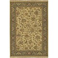 Hand-knotted Sangli Collection Wool Rug (9' x 12')