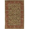 Artist's Loom Hand-tufted Traditional Oriental Wool Rug - 5'x7'6