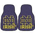 Fanmats NCAA Notre Dame Car Mat Set