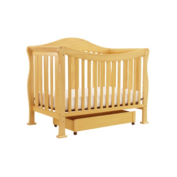 DaVinci Parker 4-in-1 Crib with Toddler Rail in Natural