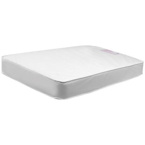 DaVinci Twilight Hypoallergenic Universal Fit Waterproof 6-Inch Ultra Firm Deluxe Crib Mattress - White