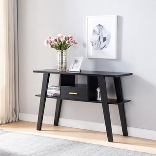 Carson Carrington Hogheden Contemporary 1-Drawer Console Table