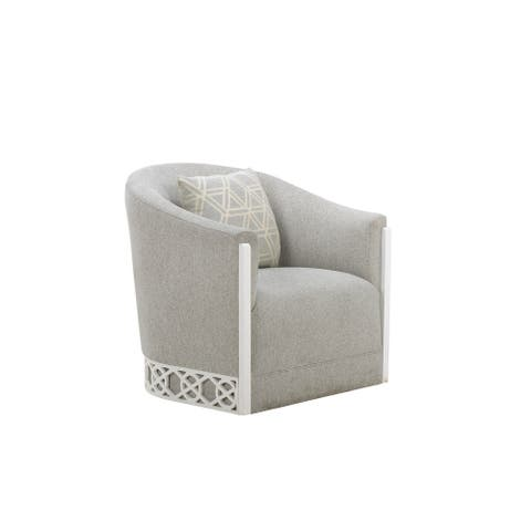 A.R.T. Furniture Summer Creek Upholstery Hatteras Spa Swivel Chair - w-32.75 x d-32.5 x h-40