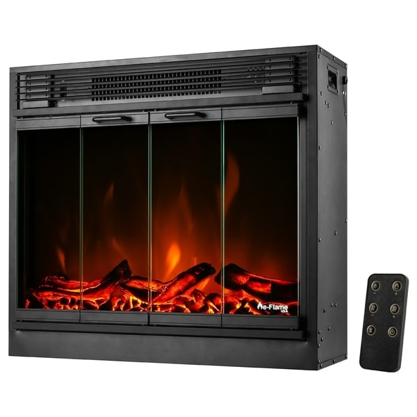 e-Flame USA Montreal 26-inch LED Electric Fireplace Insert