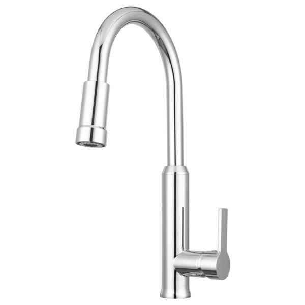 Shop Pacific Bay Othello Pull Down Kitchen Faucet Overstock 30016915