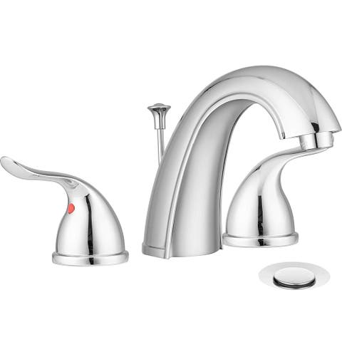 Pacific Bay Treviso Widespread Bathroom Faucet with Pop-Up