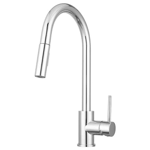 Pacific Bay Bellevue Pull-Down Kitchen Faucet