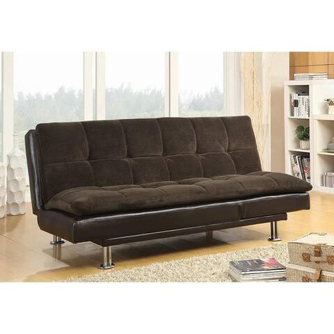 Selma Versatile Dark Brown Sofa bed