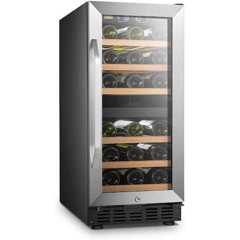 Copper Grove Bethlehem 15-inch Dual-zone Wine Refrigerator