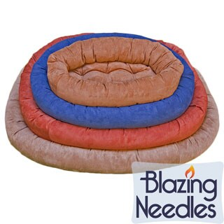 Blazing Needles Micro Suede Jumbo Pet Corral Bed