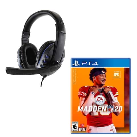PlayStation 4 Madden 20 with Headset