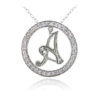 Icz Stonez Sterling Silver Cubic Zirconia Initial Necklace|https://ak1.ostkcdn.com/images/products/3002427/P11150778.jpg?_ostk_perf_=percv&impolicy=medium