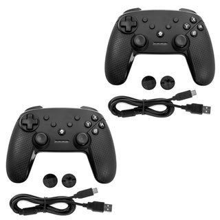 Link to 2 Pack Gamefitz Wireless Controller for the Nintendo Switch in Black Similar Items in Nintendo