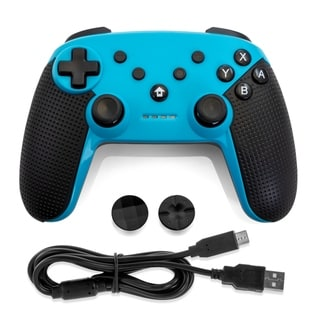 Link to Gamefitz Wireless Controller for the Nintendo Switch in Blue Similar Items in Nintendo