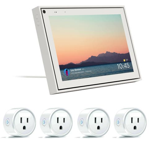 Facebook 10 Inch White Portal with Smart Socket