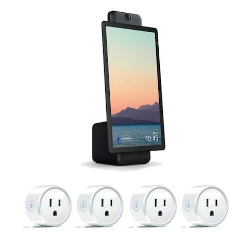 Facebook 15.6 Inch Black Plus Portal with Smart Sockets