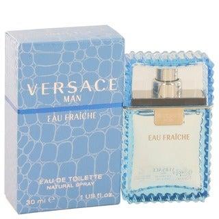 Versace Eau Fraiche Men's 1-ounce Eau De Toilette Spray