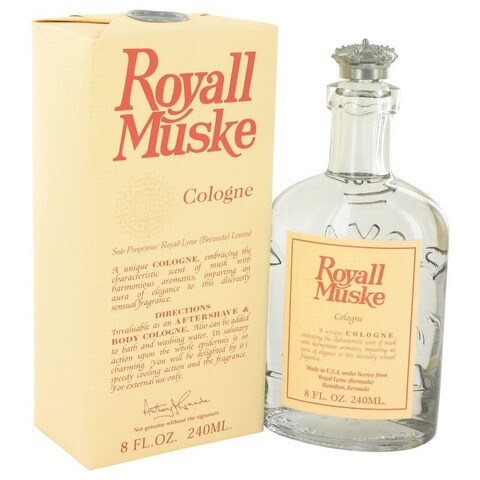 Royall Muske Men's 8-ounce Lotion/ Cologne
