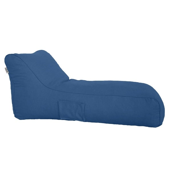 Blueberry Rest and Nest Chaise Beanbag