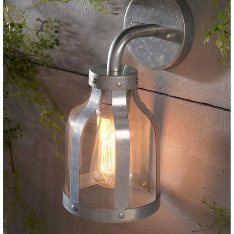Elde 11-Inch 1-light Outdoor Wall Lantern