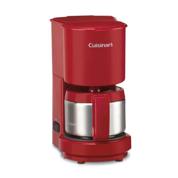 Cuisinart DCC-450RFR Red 4-cup Coffee Maker (Refurbished)