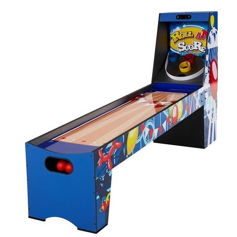 "Big Sky 87"" Colored Roll and Score Game with Electronic Scorer"