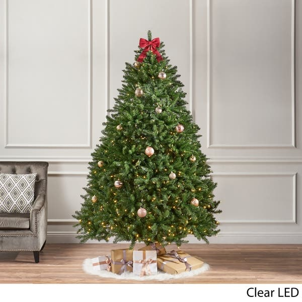 Norway Spruce Pre Lit Clear Led