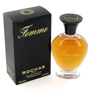 Femme Rochas Women's 3.4-ounce Eau de Toilette Spray