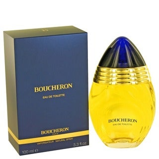 Boucheron Women's 3.4-ounce Eau de Toilette Spray