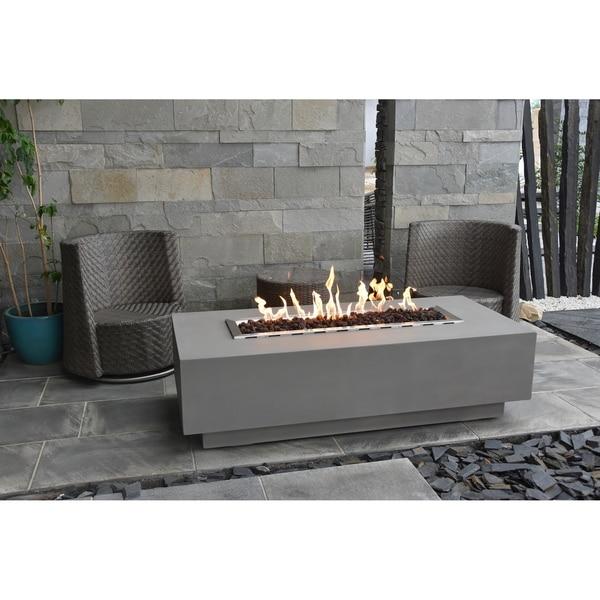 Elementi Granville Concrete Propane 45,000 BTU Auto-Ignition FireTable
