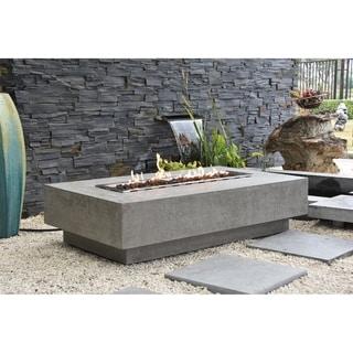 Elementi Hampton Concrete Propane 45,000 BTU Auto-Ignition Fire Table