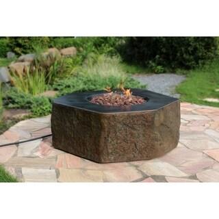 Elementi Columbia Concrete Natural Gas Table 45000 BTU Auto-Ignition