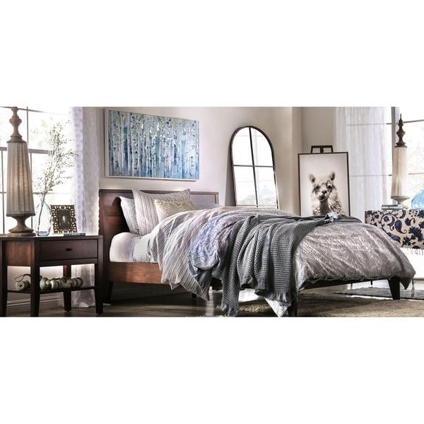 Furniture of America Larc Transitional Espresso 2-piece Bedroom Set