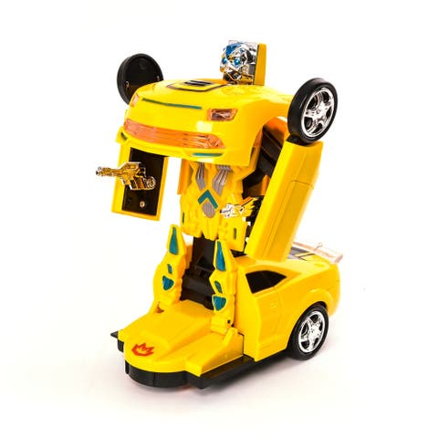 Wonderplay Transforme Car with Light/Music 3.003.748.30 IN