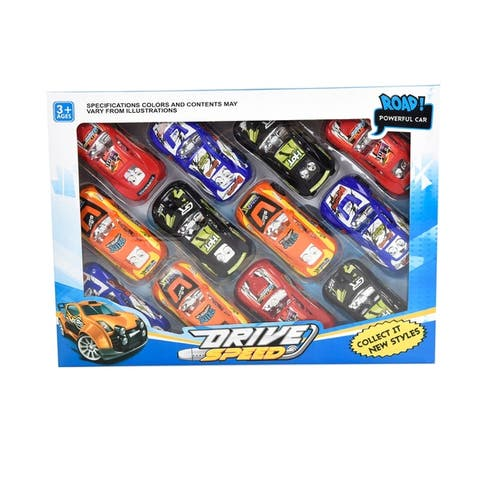 WonderPlay Pull-Back Car - Set of 12