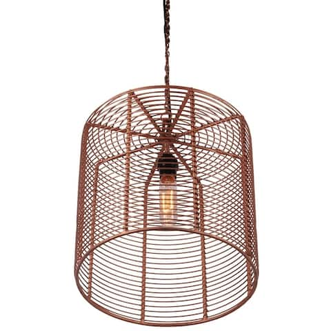 Copper Hanging Lamp LYS