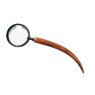 Magnifying Glass OCCULT with Horn Handle