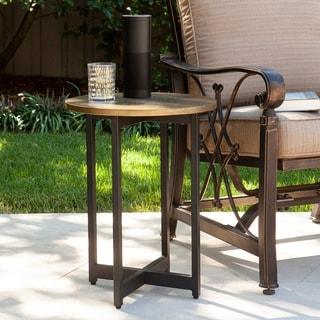 Havenside Home Bellino Indoor/Outdoor Round Accent Table