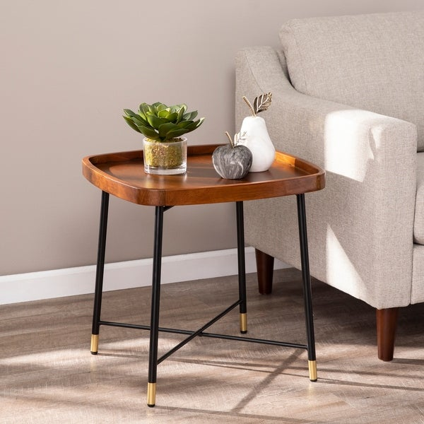 Carson Carrington Malvina Midcentury Modern Square End Table. Opens flyout.