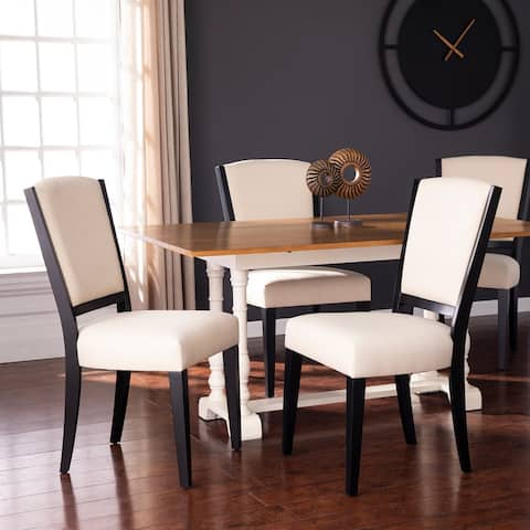 Copper Grove Delfer Upholstered Dining Chairs (Set of 2)