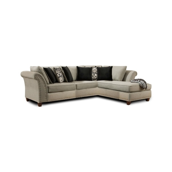 Tomas Sectional Zues Gray