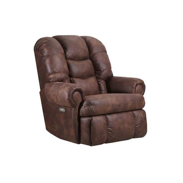 David Wall Saver Recliner Dorado Walnut