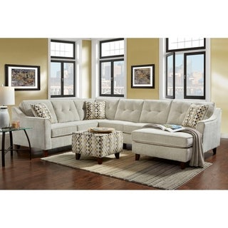 Kendall  Sectional Sydney Cream