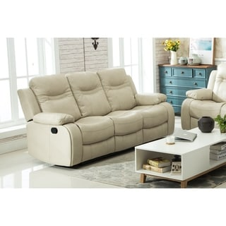 Carlo Recliner Sofa with Manual Handle Taupe