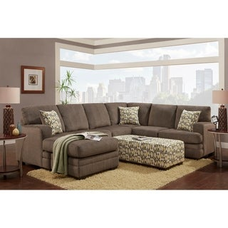 Kriss Sectional Hillel Pewter